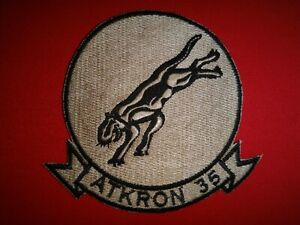 US Navy Attack Squadron AKTRON 35 BLACK PANTHER Second VA-35 Patch