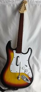 Fender Stratocaster Rock Band Harmonix Wii Wireless Guitar #NWGTS2 untested