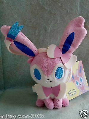 JAPAN Pokemon Center LTD pokémon time Eevee Collection 2015 Plush Mascot SYLVEON