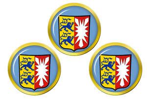 Schleswig-Holstein-Allemagne-Marqueurs-de-Balles-de-Golf