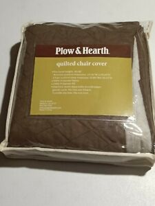 Plow & Hearth Polyester Pet Chair Protective Cover - Chocolate - GallyHo