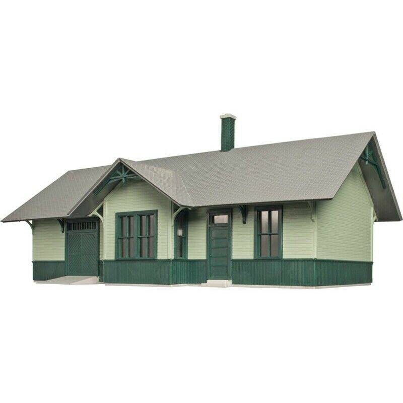Atlas 6915, O Scale, Hillside Structures Series Building Kit, Riverdeon Station