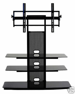 Transdeco Tv Stand With Mount Up To 65 Inch Entertainment Audio