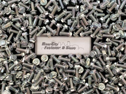 M10-1.5 x 25 Hex Flange Bolts M10x1.5x25 Grade 10.9 10mm x 25mm Screws 10