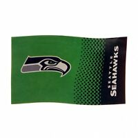 NFL Football große Fahne Flagge Flag SEATTLE SEAHAWKS Fade neu OVP 150x90cm
