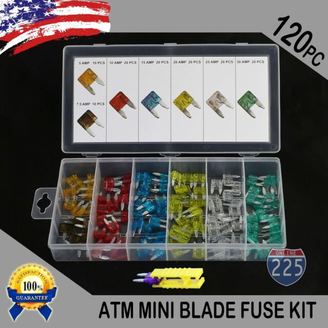 10 x AMP 10A STANDARD AUTO CAR BLADE FUSE FUSES NEW