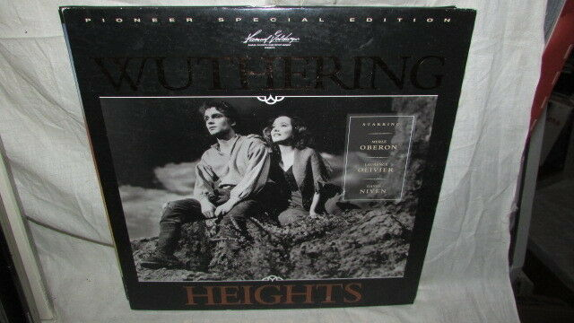WUTHERING HEIGHTS LASERDISC PIONEER SPECIAL EDITION LAURENCE OLIVIER