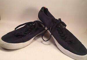 d20a492f1 Lacoste Sport Shoes Ortholite Navy Blue Croc Logo Tennis Casual Size ...