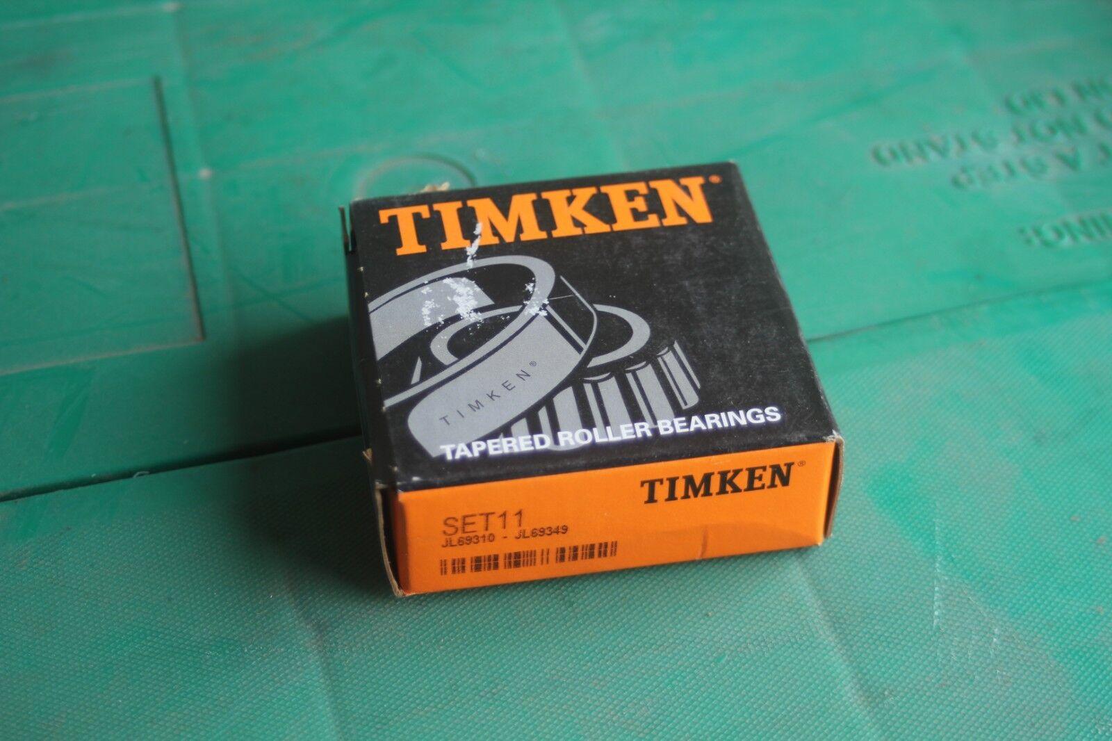 Timken Set11 Tapered Roller Bearing