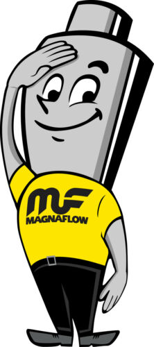 "Magnaflow 35127 Exhaust Tip 2.25in Inlet 4.5/"" Long 4/"" Outlet Stainless Steel"