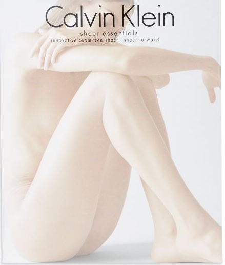 9c7ba76ba Calvin Klein Seam-free Seamless Pantyhose Tights Color  BUFF Size  A x23f -