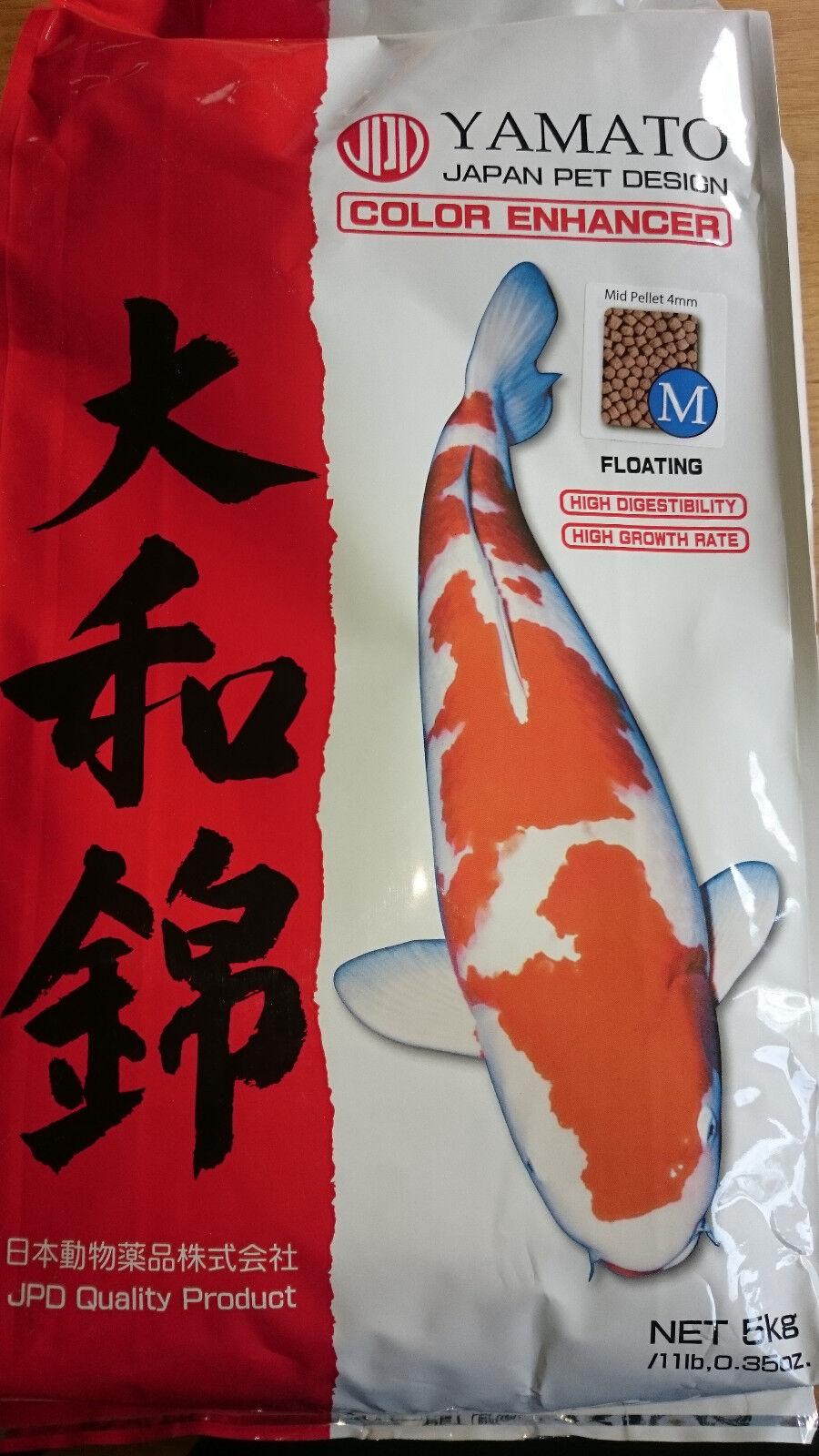 Yamato Nishiki - farbverstärkendes Koifutter von JPD - medium  - 5 kg