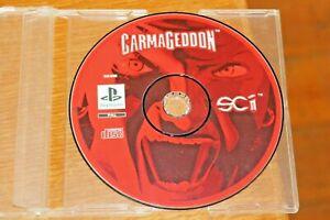 CARMAGEDDON-Original-1999-PS1-Playstation-One-Game-PAL-Motor-Racing