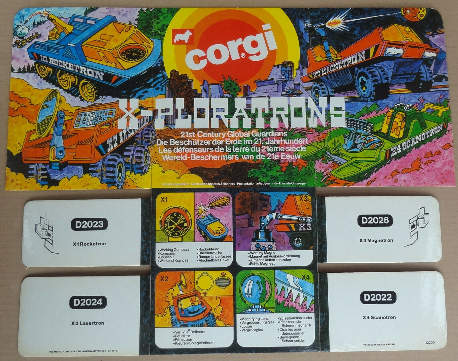 CORGI TOYS-X-Ploratrons Original Shop  counter display point de vente voiturete SIGNE  la meilleure offre de magasin en ligne