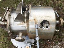 15 Gallon Jacketed 316 Ss Vessel Tank With Cone Bottom Amp Center Outlet Lab Type