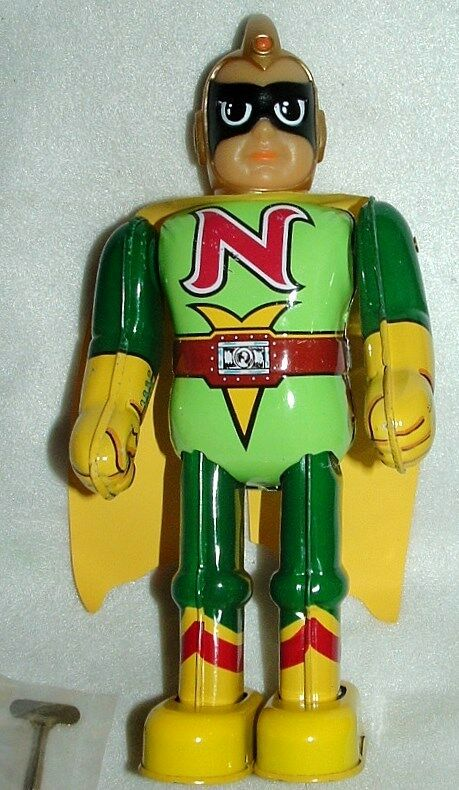 Der junge billiken9  tin wind walkng japanmade1990s superheld newnbox roboter
