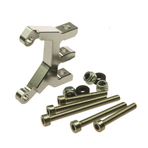 Aluminum Center Link Mount für 1//10 RC Rock Crawler Axial SCX10 Schwarz//Silber