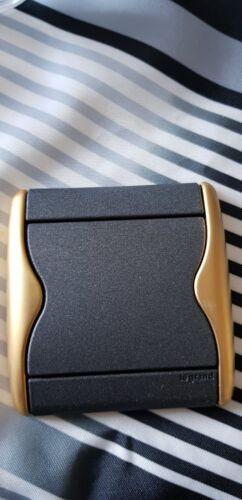Legrand sagane Xelio graphimat Or enjoliveur  interrupteur plaque doigt 85350