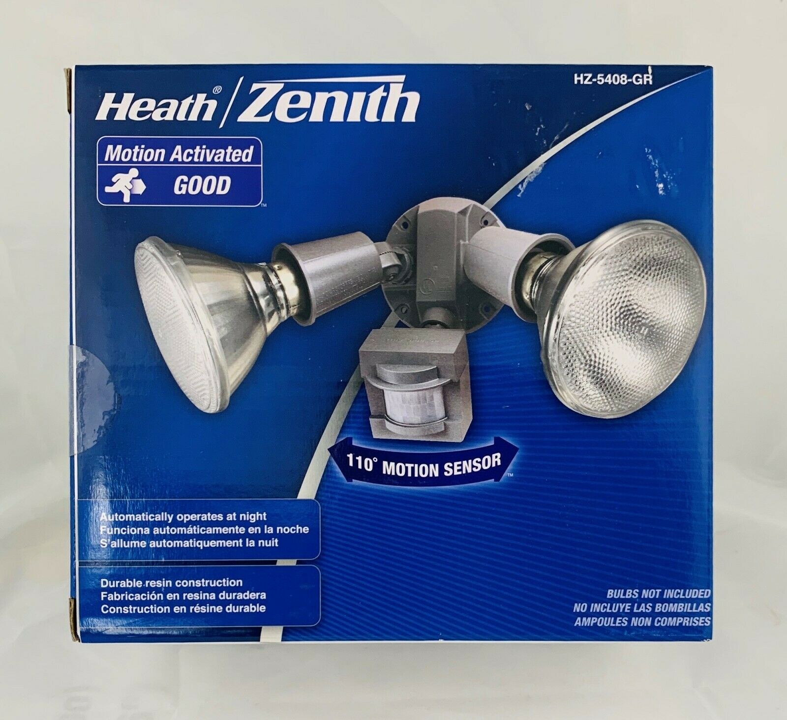 Heath Zenith Sl 5630 Bz D 180 Degree Halogen Motion Sensing Security Light For Sale Online Ebay