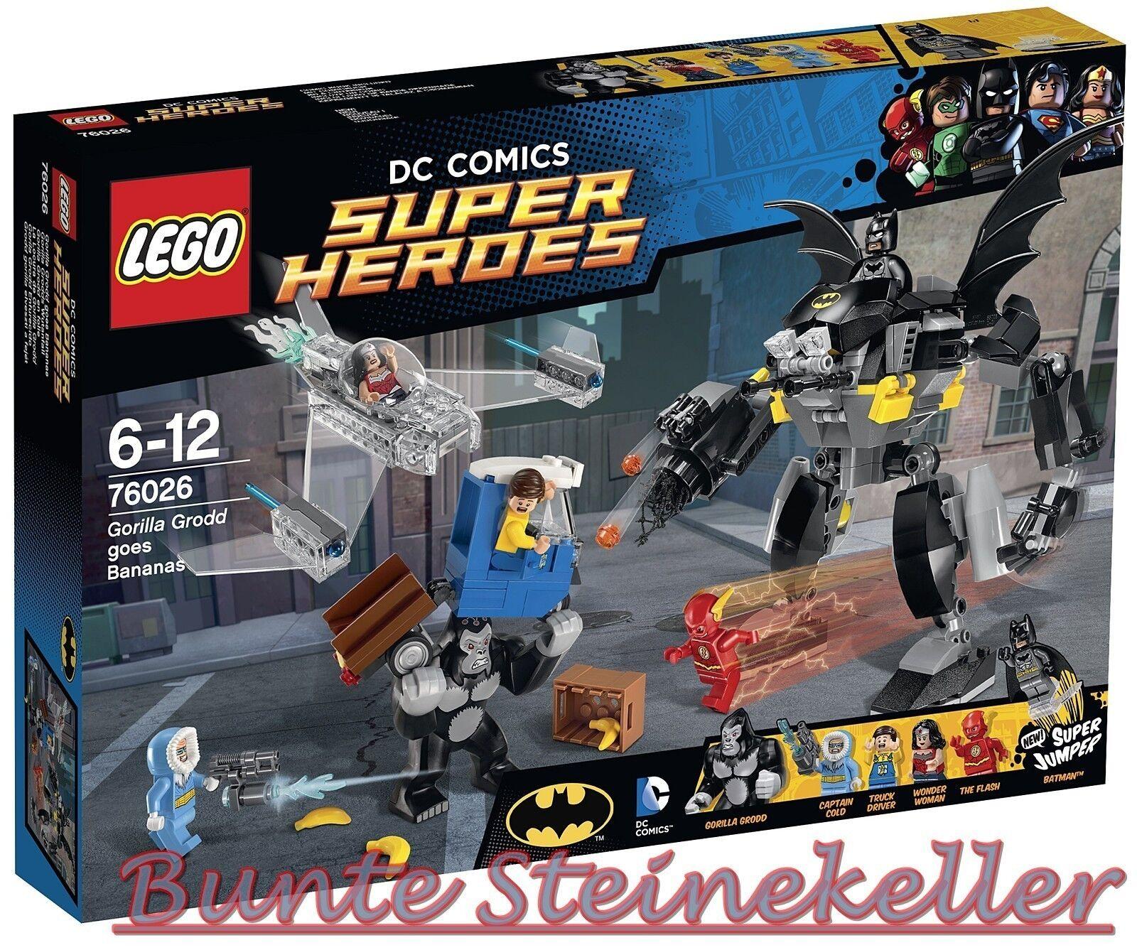 Lego ® Super Heroes  76026 gorila grodds pataleta & 0.  de envío & OVP & nuevo