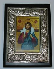 Gesù Buon Pastore metallo OKLAD icona ICON Good Shepherd icone Orthodox icoon