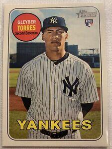 2018-Topps-Heritage-603-Gleyber-Torres-rookie-RC-card-New-York-Yankees