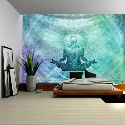 Art Mandala Decor Throw Tapestry Hippie Room Wall Hanging Psychedlic Tapestries