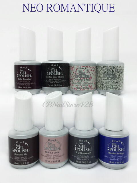 IBD Just Gel Polish - NEO ROMANTIQUE COLLECTION 2014 - Pick Your Color