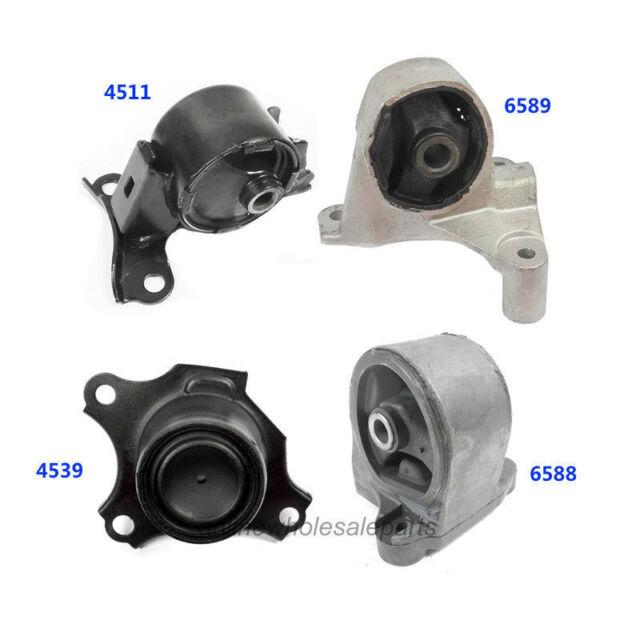 For 01-05 Honda Civic 1.7L 2 Doors Engine Motor /& Trans Mount 4PCS Manual M621