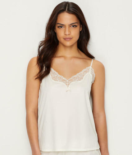 Women/'s Maidenform Satin and Lace Cami Sleep Top
