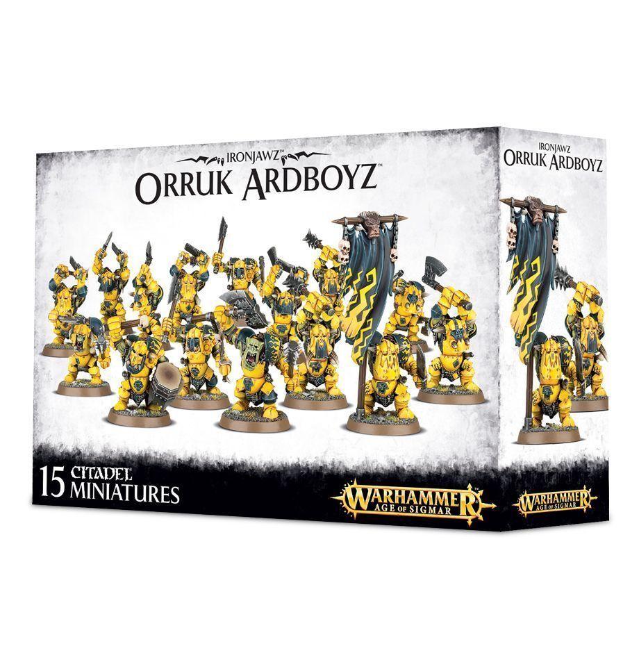 Ardboys   Ardboyz Orruk Ironjawz Warhammer Age of Sigmar NIB