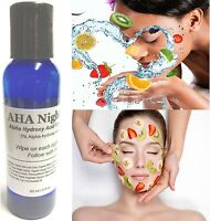 Aha Night Toner Exfoliate Before Nutrients Alphahydroxy