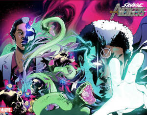Savage-Avengers-5-Schiti-Immortal-Wraparound-Var-Marvel-Comic-1st-Print-2019-NM