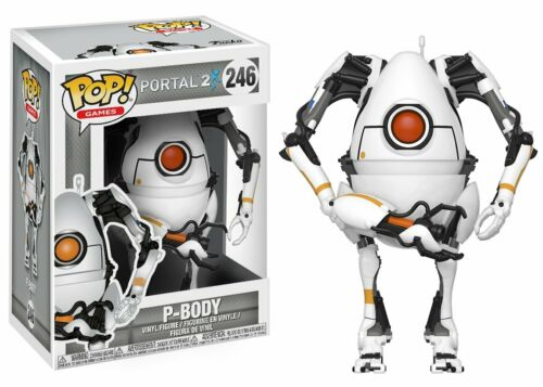 Funko POP jeux Portal-P-Body Vinyl Action Figure #246 Standard