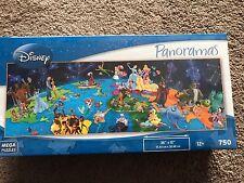 Disney Panoramas 750  Puzzle Alice In Wonderland, Aladdin, Ursula, Dumbo