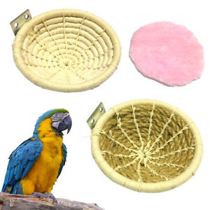 FT-KQ-Pet-Bird-Cotton-Rope-Breeding-Hatching-Nest-House-Bed-Hanging-Cage-Decor