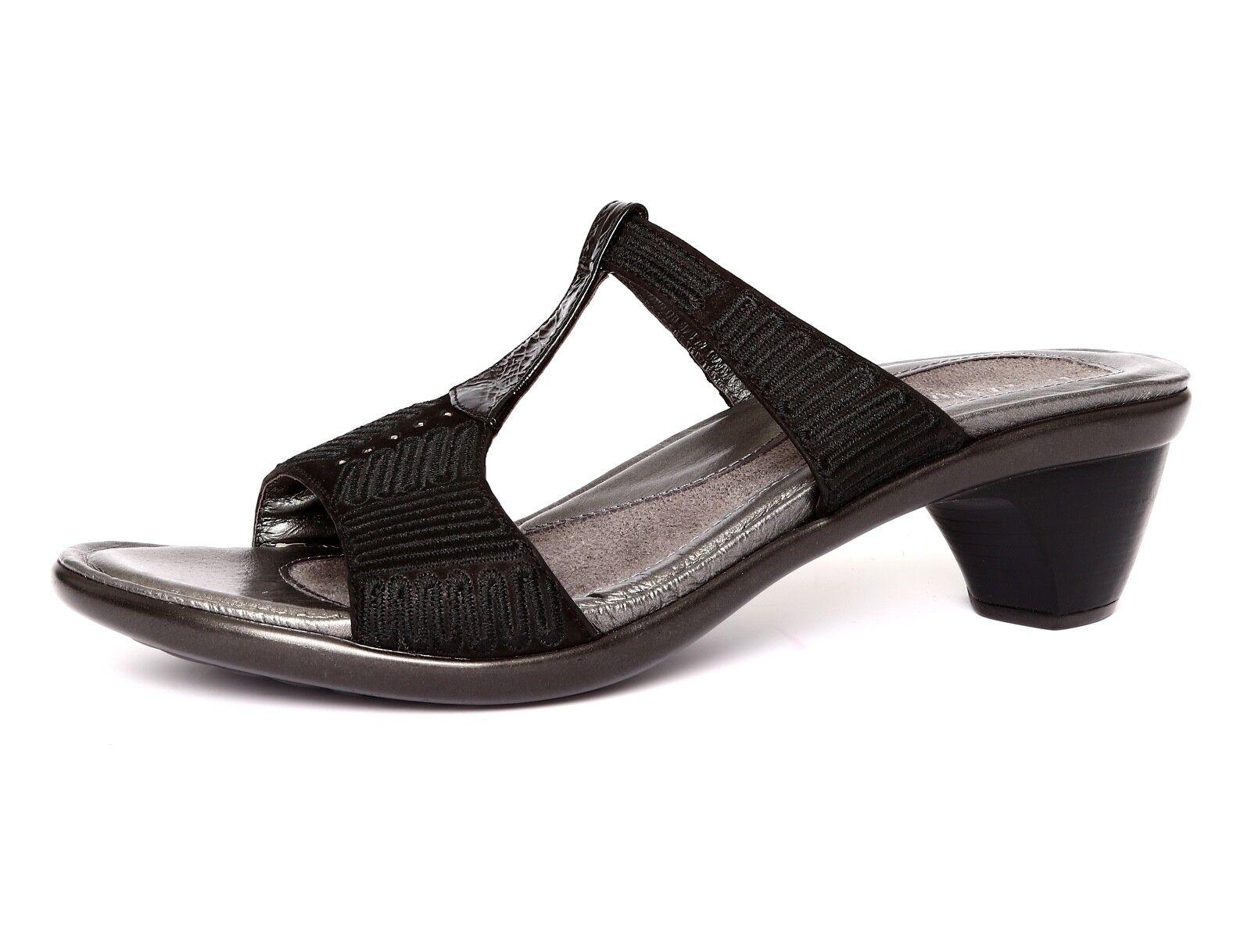Naot Footwear Delia Women's Black Velvet Leather Leather Leather Size (US 10) (EU 41) 1210 b4efc8