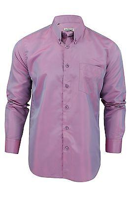 Mens Tonic Two Tone Shirt by Xact Clothing Long Sleeved