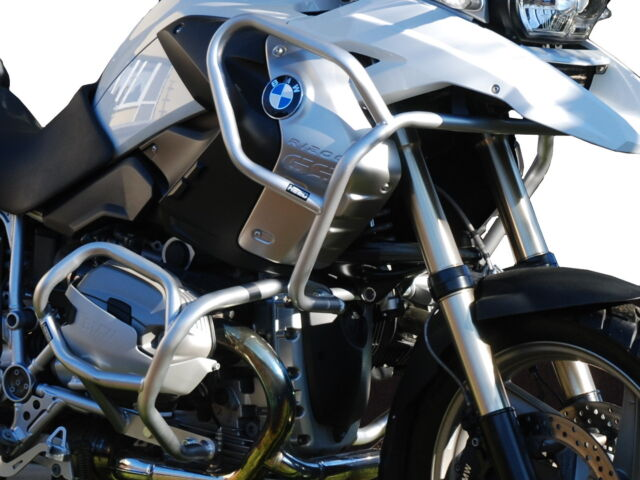 Defensa de motor Crash bars Heed BMW R 1200 GS (2008-2012) - Full Bunker plata