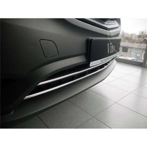BAGUETTE PARE-CHOC CHROMÉE 2PS INOX Mercedes VITO W 447Panelvan-Combi-Mixto2015