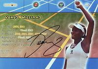 VENUS WILLIAMS Signed 12x8 Photo WORLD TENNIS Champion WIMBLEDON COA