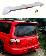 subaru forester sf5 rear spoiler wing with lights white sf9 sti for sale online ebay subaru forester sf5 rear spoiler wing