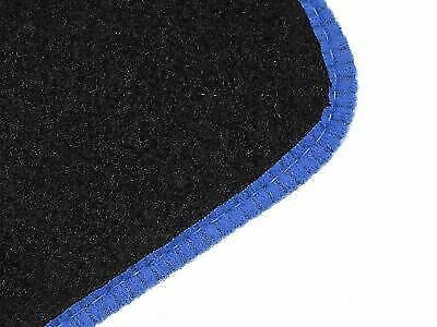 Tailored Fit Black Carpet Floor Mats 4pc Colour Trim for Ford Focus ST 05-11