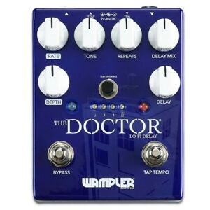 Wampler-The-Doctor-Lo-Fi-Ambient-Delay-Pedal-Hall-NEU-NEW