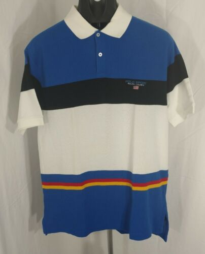 Ralph Lauren POLO SPORT vintage polo shirt snow be
