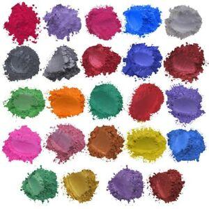 24-Colores-x5g-Jabon-Mica-Polvo-Coloracion-Resina-Epoxy-Pigmento-Perla-Natural-Mica-Reino-Unido