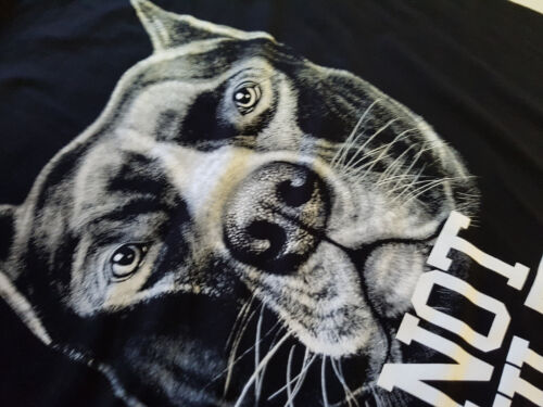 Not Guilty Ringer T-Shirt Hund neu Pitbull Dogge Rasse Kampfhund gibt es nicht