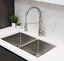 thumbnail 10 - Single Handle Pull Down Kitchen Faucet Brushed Nickel