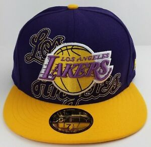 bacd3909018762 Los Angeles Lakers NBA New Era 59FIFTY fitted/hat/basketball cap | eBay