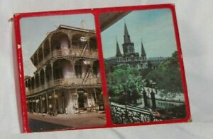 VINTAGE NEW ORLEANS THEME PLAYING CARD BOX SET